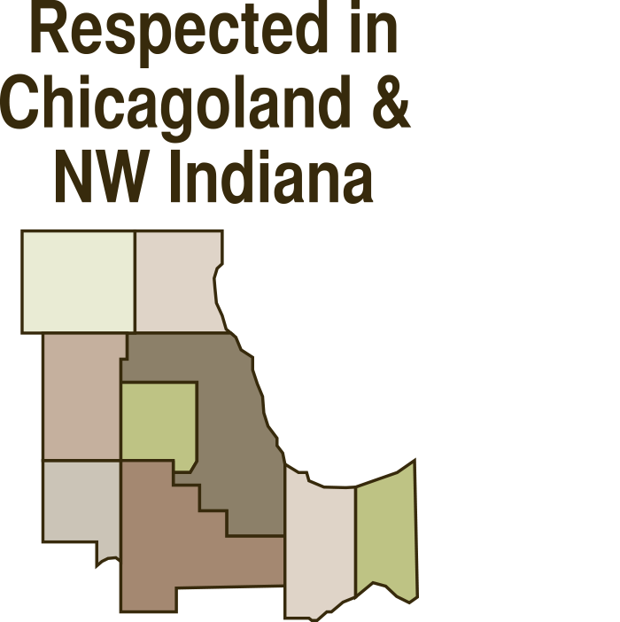 Respected in Chicagoland & NW Indiana Icon